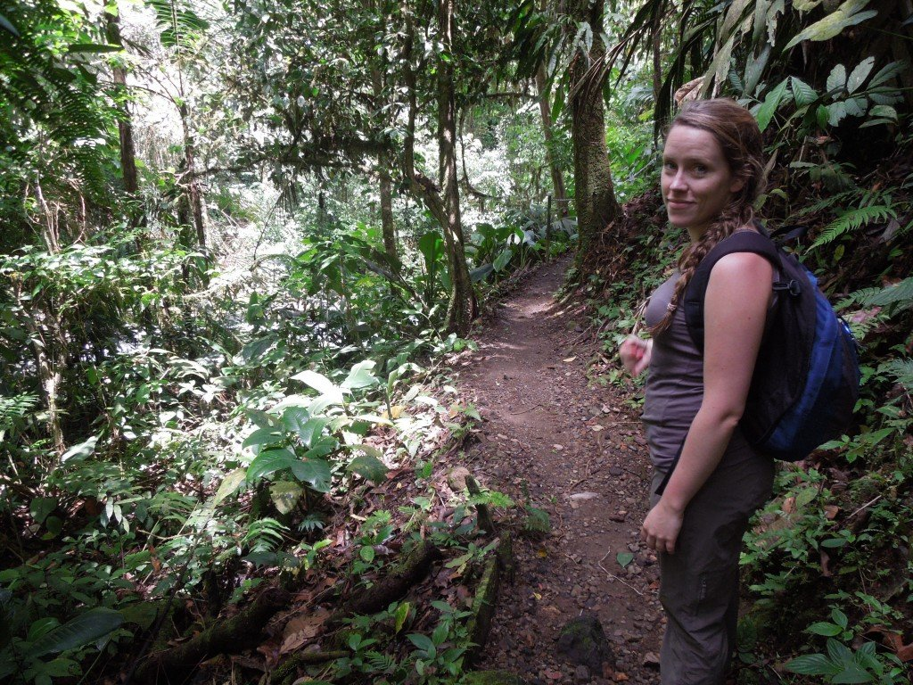 Hiking in La Fortuna