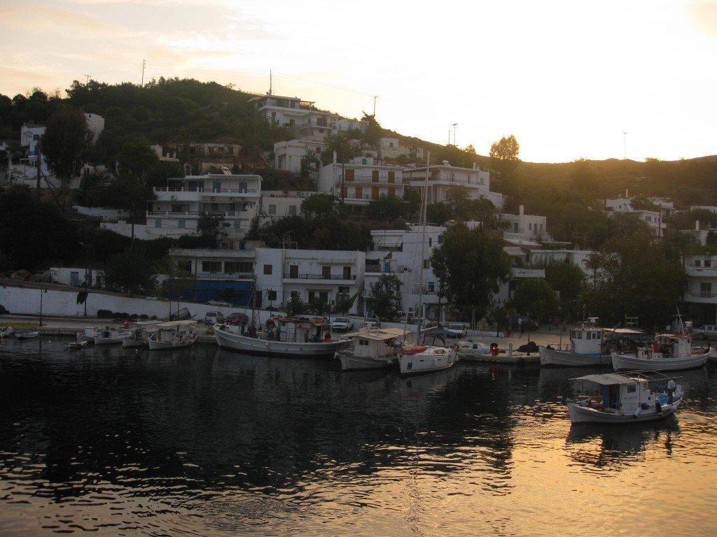 Skyros harbour