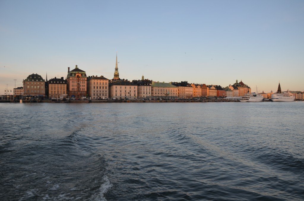 Gamla Stan from the water