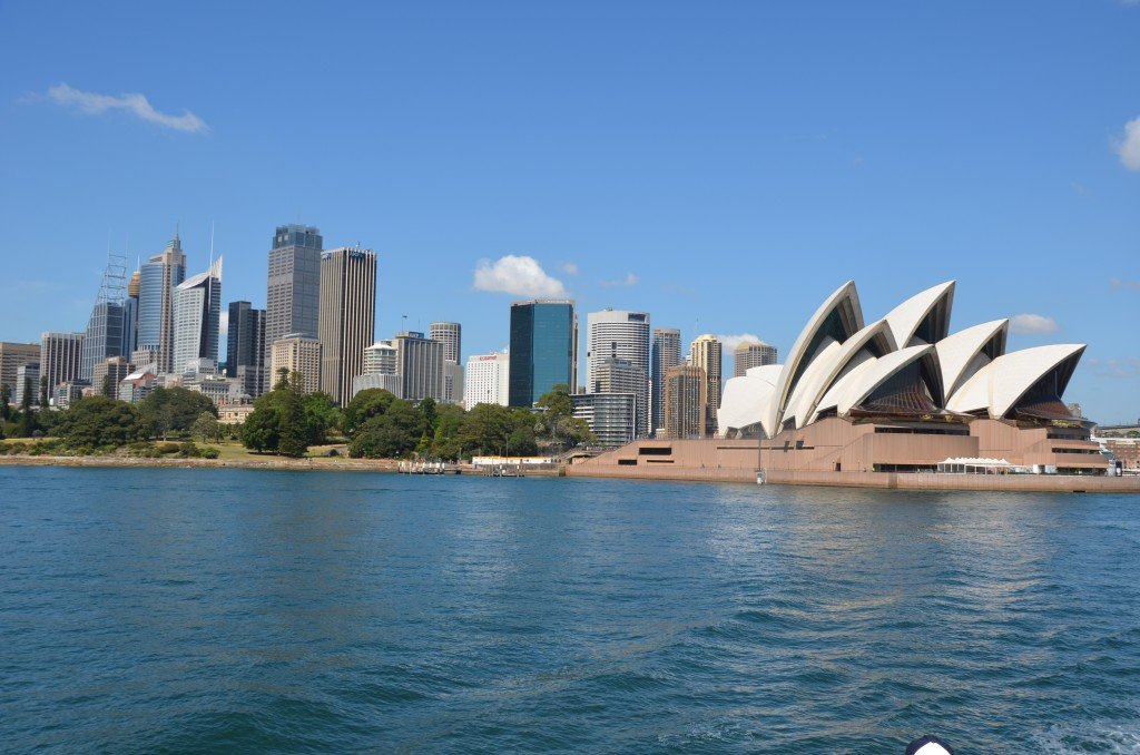View from ferry to Manly