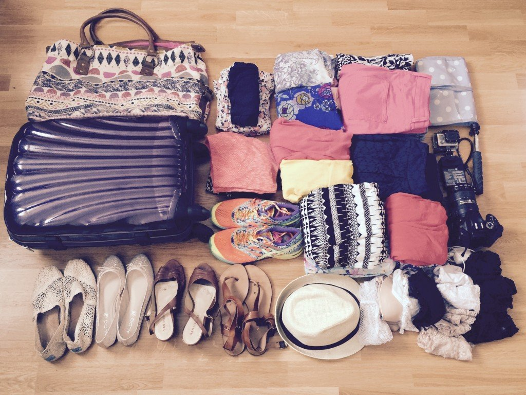 Packing for US road trip