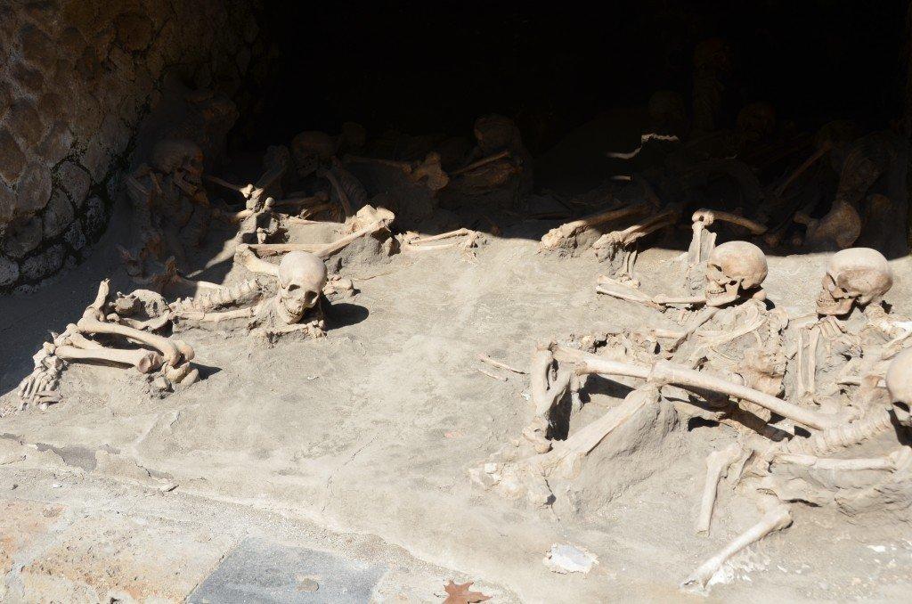 Herculaneum skeletons