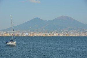 Vesuvius from Naples