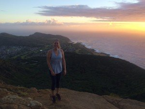 Sunrise on Koko Head