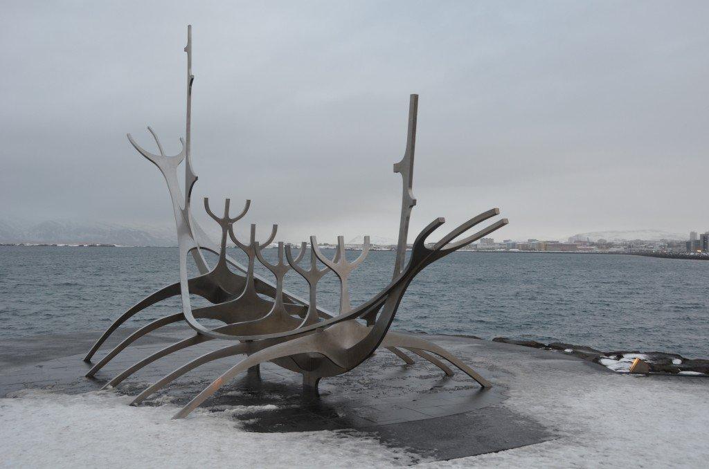 The Sun Voyager sculpture