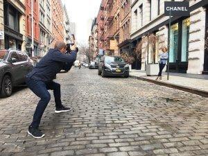 Michael Cinquino in action